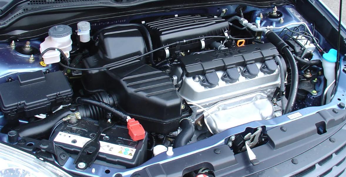 Honda Civic 7th Gen. (2001-2005) Oil Change Guide
